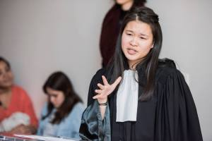 Flora Boillaut, winner of the Lysias competition for first year students - © Christophe Rabinovici