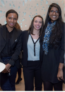 """Thanu, on the right : """"I am looking for an LLM in connection with bioethics or medical liability"""" - © Christophe Rabinovici"""