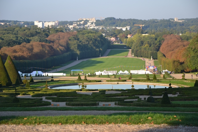 The place of the event : Parc de Sceaux