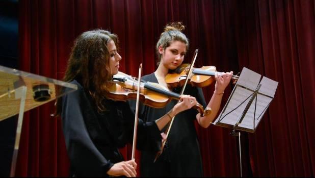 christmas violons